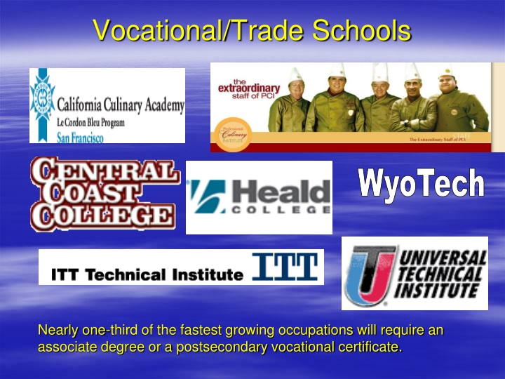 Vocational/Trade Schools