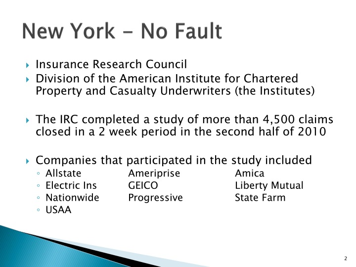 New york no fault