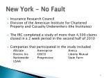 new york no fault