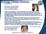 beverage category directory
