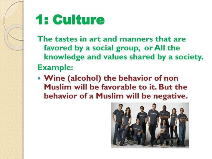 1: Culture
