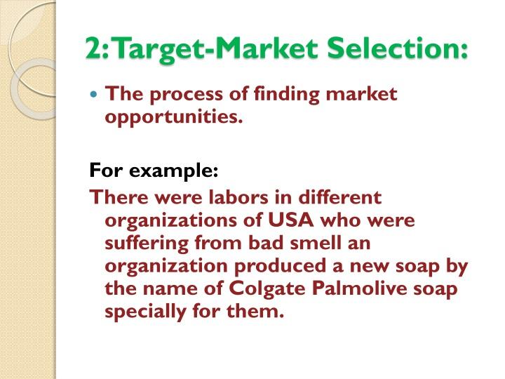 2: Target-Market Selection: