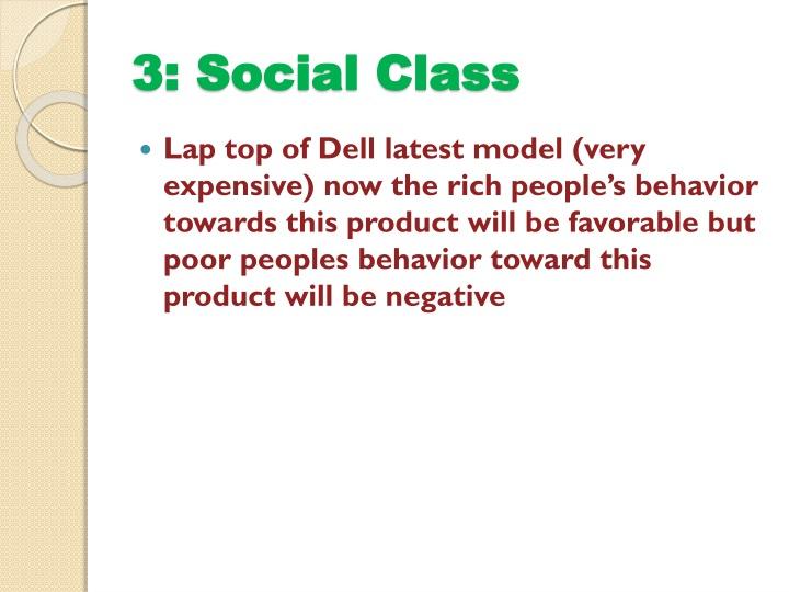 3: Social Class