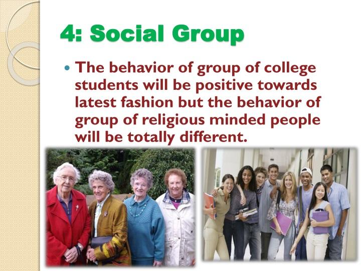 4: Social Group