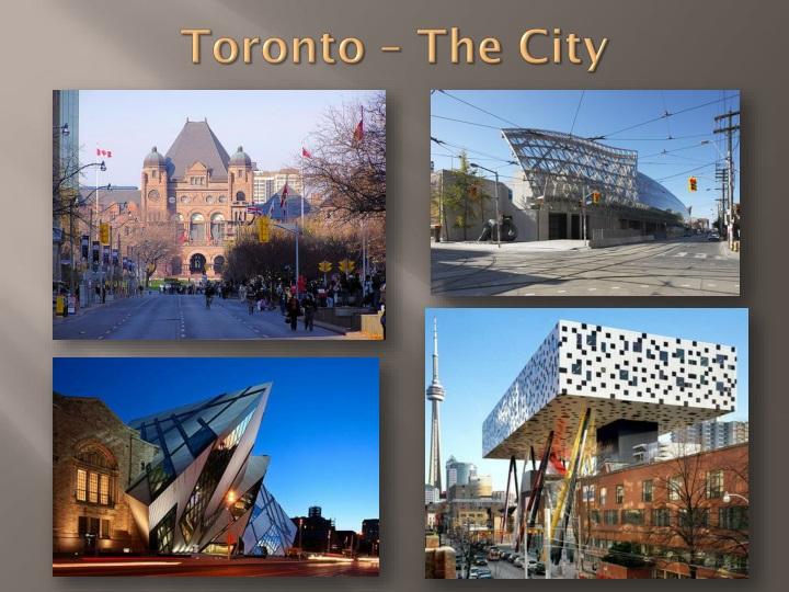 Toronto – The City