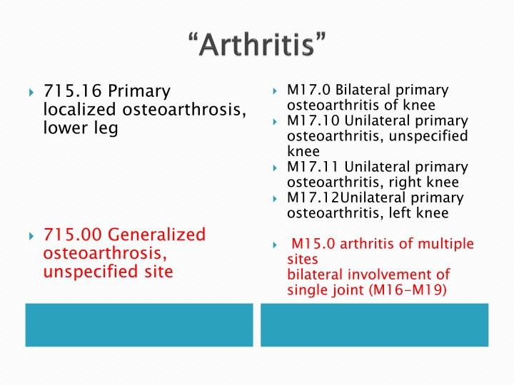 """Arthritis"""