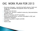 oig work plan for 2013