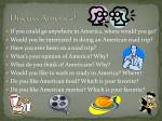 discuss america