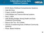 collaborations across early childhood systems