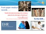 from paper medical records