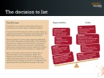 the decision to list