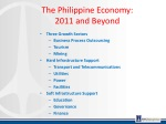 the philippine economy 2011 and beyond