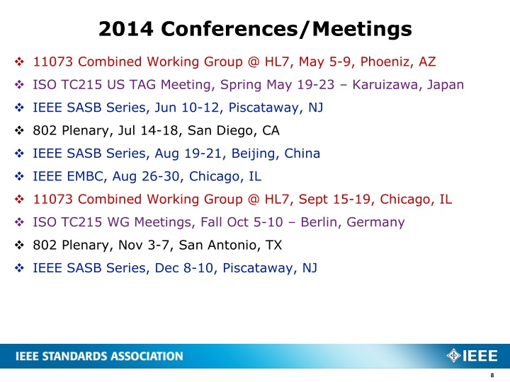 2014 Conferences/Meetings