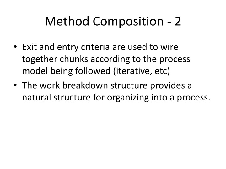 Method Composition - 2