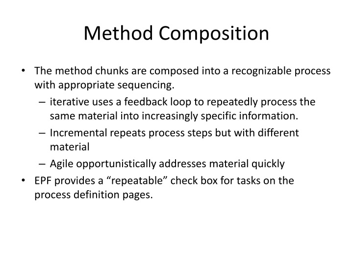 Method Composition