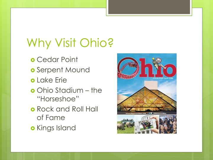 Why Visit Ohio?