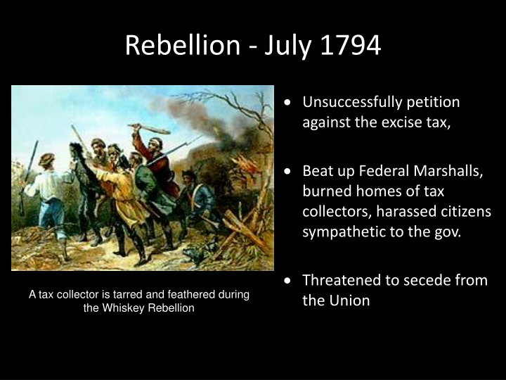 Rebellion - July 1794