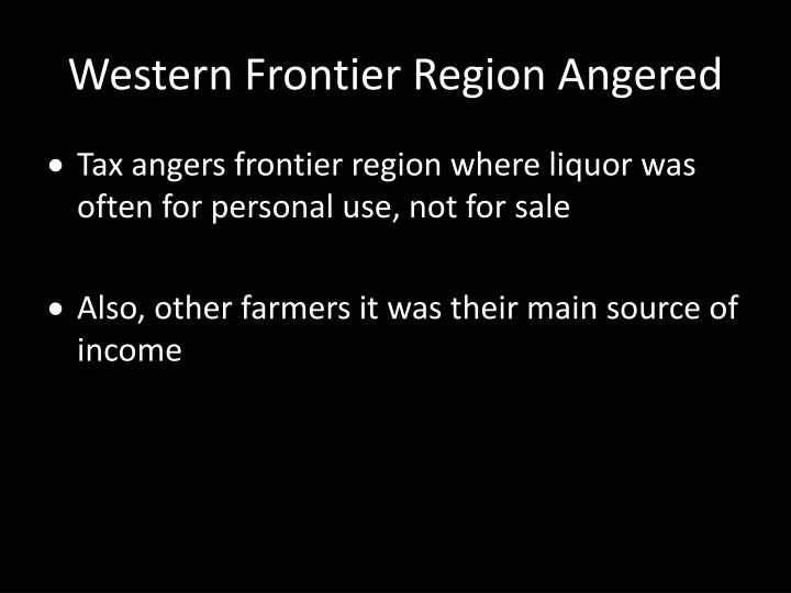 Western Frontier Region Angered