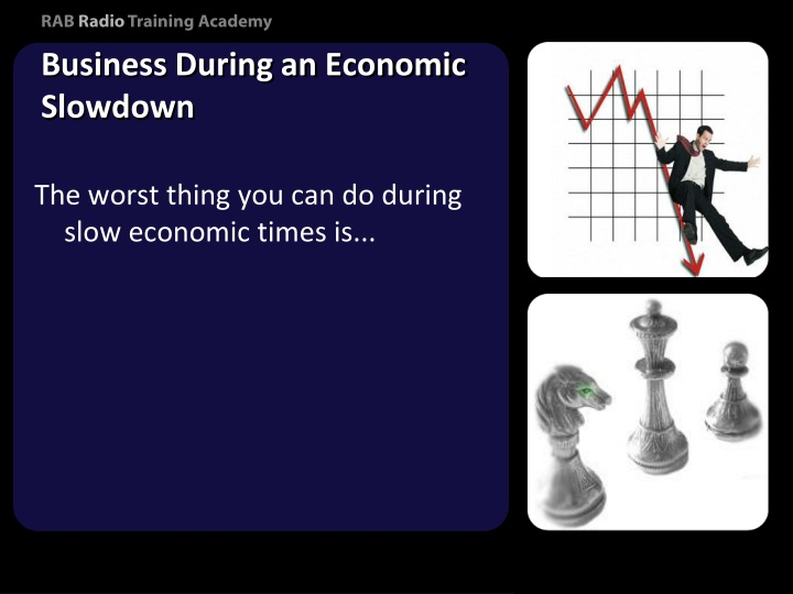 Business During an Economic Slowdown