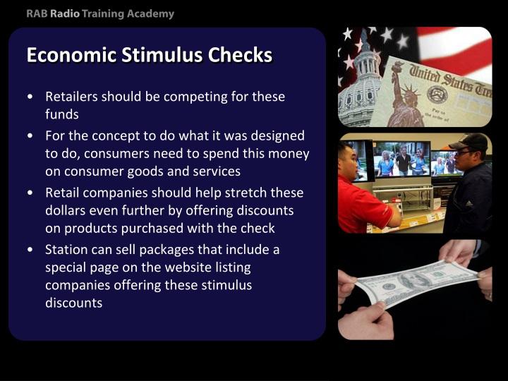 Economic Stimulus Checks