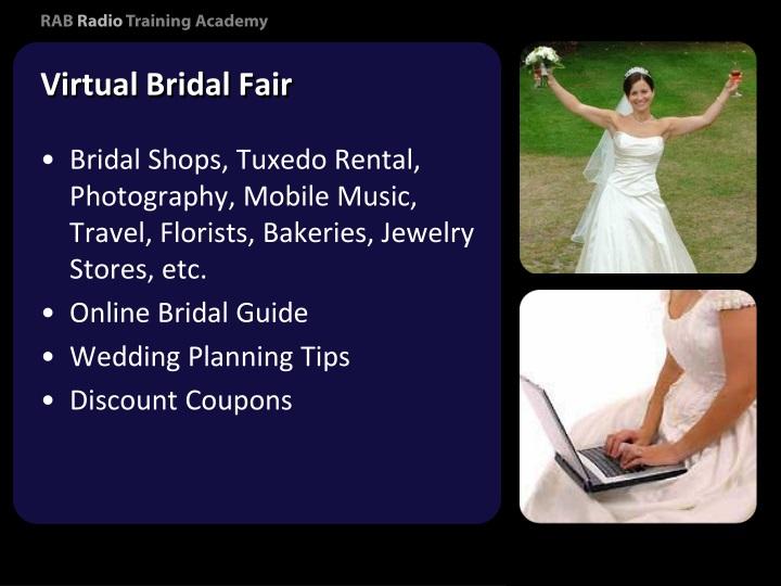 Virtual Bridal Fair