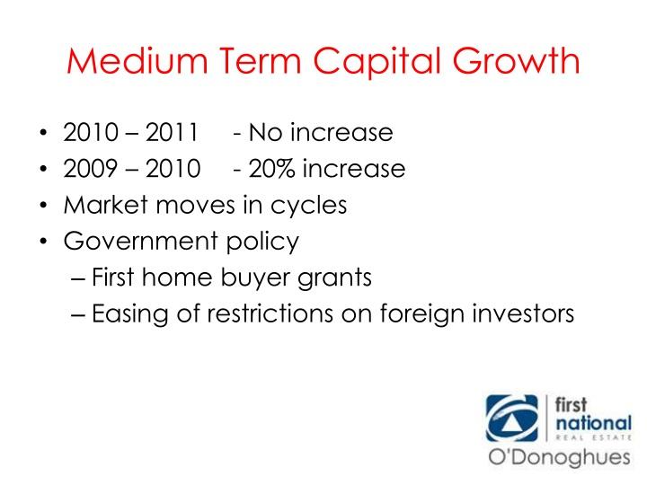 Medium Term Capital Growth