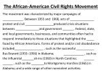 the african american civil rights movement2