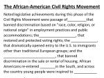 the african american civil rights movement4