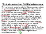 the african american civil rights movement7