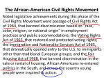 the african american civil rights movement8