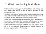 1 what positioning is all about