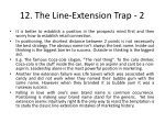 12 the line extension trap 2