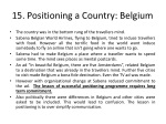 15 positioning a country belgium
