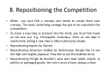 8 repositioning the competition