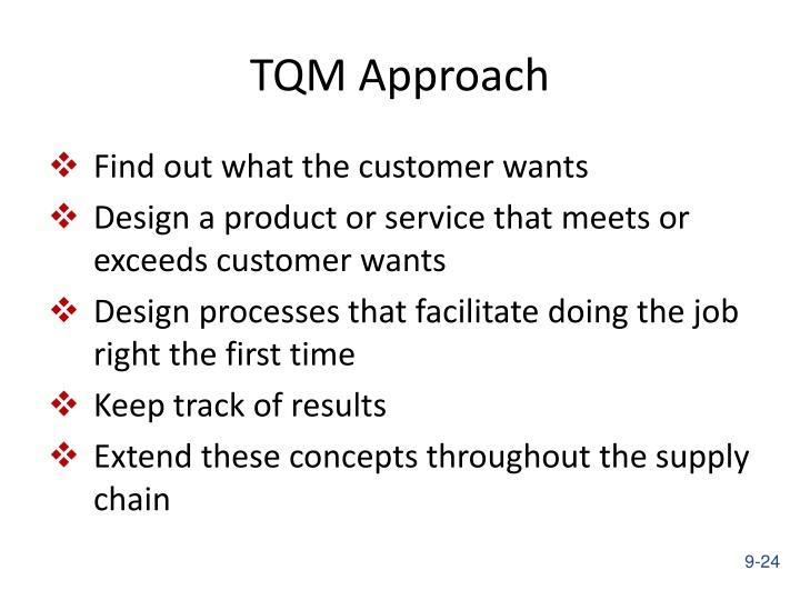 TQM Approach