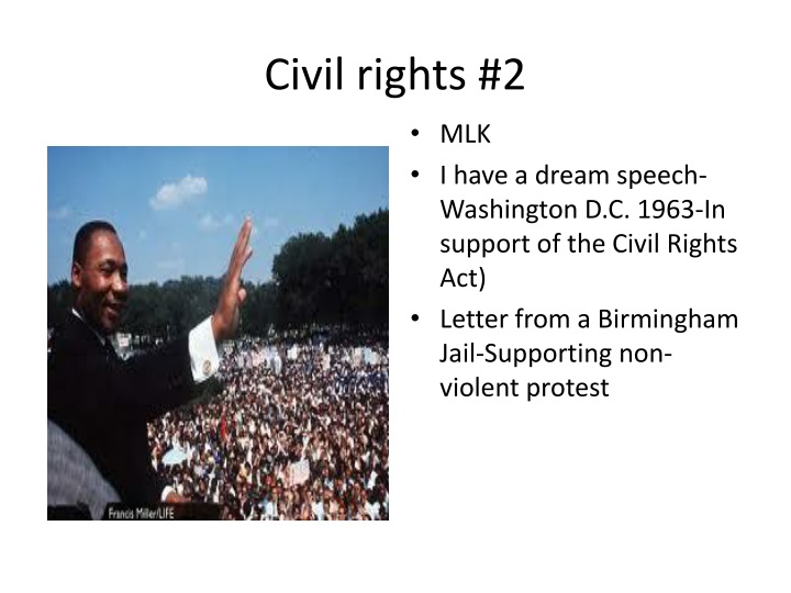 Civil rights #2