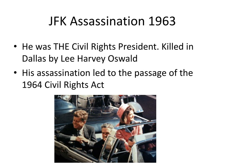 JFK Assassination 1963