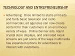 technology and entrepreneurship2