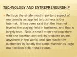technology and entrepreneurship5