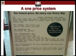 a one price system