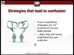 strategies that lead to confusion