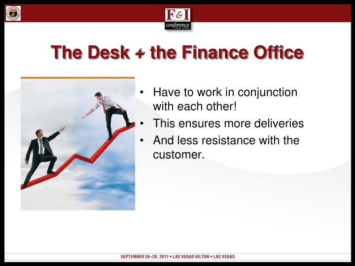 The Desk + the Finance Office