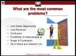 what are the most common problems