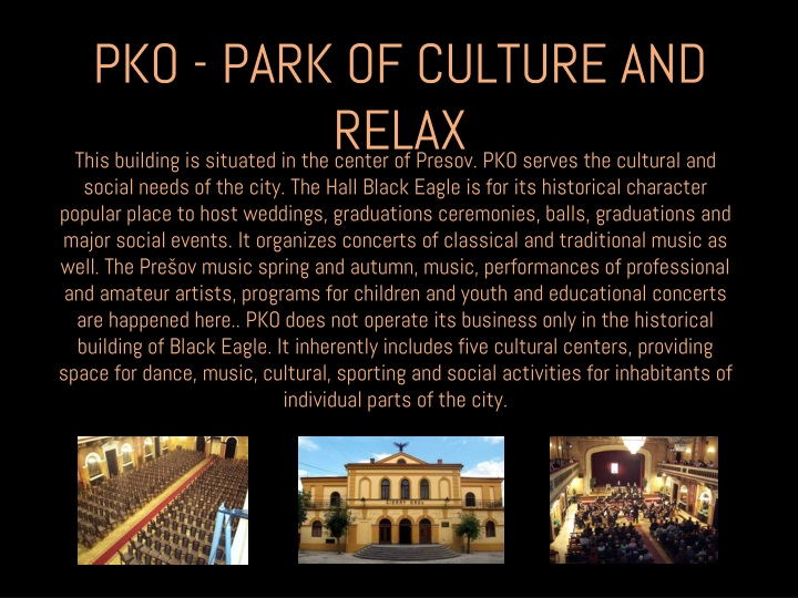 PKO - PARK OF CULTURE AND RELAX