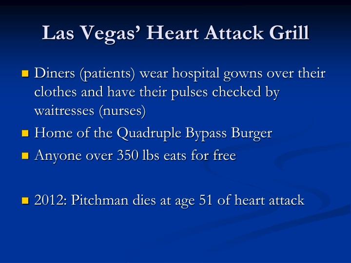 Las Vegas' Heart Attack Grill