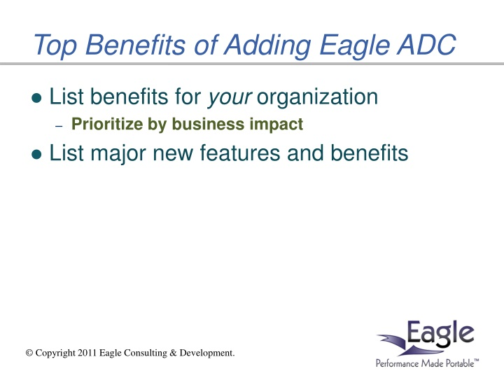 Top Benefits of Adding Eagle ADC