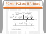 pc with pci and isa buses