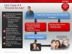 use case 4 promote the sale