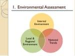 1 environmental assessment