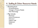 4 staffing other resource needs